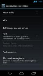 Motorola Moto X - Rede móvel - Como ativar e desativar uma rede de dados - Etapa 5