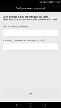 Huawei Mate S - E-mail - Configuration manuelle (outlook) - Étape 9