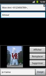 Samsung I9001 Galaxy S Plus - MMS - envoi d'images - Étape 9