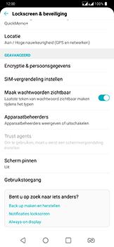 LG g7-fit-dual-sim-lm-q850emw - Beveiliging en ouderlijk toezicht - Hoe wijzig ik mijn SIM PIN-code - Stap 5