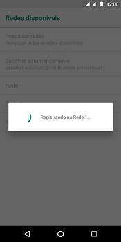 Motorola Moto E5 - Rede móvel - Como selecionar o tipo de rede adequada - Etapa 11