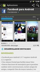 Sony Xperia U - Aplicaciones - Descargar aplicaciones - Paso 8