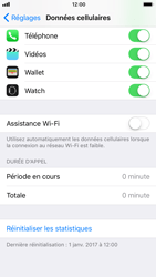 Apple iPhone 6 - iOS 11 - Internet - Désactiver Assistance WiFi - Étape 6