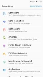 Samsung Galaxy A5 (2017) - Wifi - configuration manuelle - Étape 3