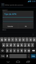 Motorola Moto X - Internet (APN) - Como configurar a internet do seu aparelho (APN Nextel) - Etapa 14