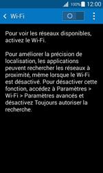 Samsung Galaxy Ace 4 - Internet et connexion - Accéder au réseau Wi-Fi - Étape 5