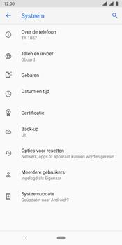 Nokia 9 - Toestel - Software update - Stap 7