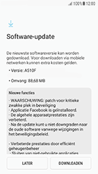 Samsung A3 (2016) - Android Nougat - Netwerk - Software updates installeren - Stap 8