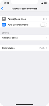 Apple iPhone X - iOS 12 - Email - Configurar a conta de Email -  5