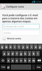 Huawei Y340 - Email - Como configurar seu celular para receber e enviar e-mails - Etapa 6
