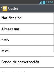 LG Optimus L3 II - Mensajería - Configurar el equipo para mensajes de texto - Paso 6