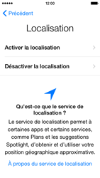 Apple iPhone 5c (iOS 8) - Premiers pas - Créer un compte - Étape 10