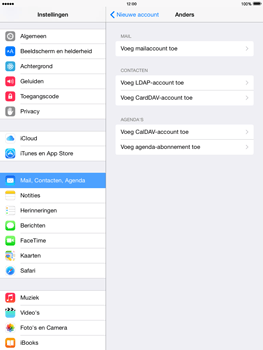 Apple iPad 4th generation iOS 8 - E-mail - Account instellen (POP3 met SMTP-verificatie) - Stap 6