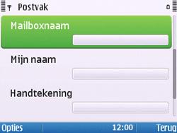 Nokia E5-00 - E-mail - handmatig instellen - Stap 20