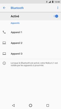 Nokia 6 (2018) - Bluetooth - connexion Bluetooth - Étape 9