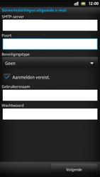 Sony LT26i Xperia S - E-mail - handmatig instellen - Stap 12
