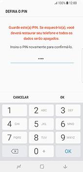 Samsung Galaxy S9 - Segurança - Como ativar o código de bloqueio do ecrã -  10