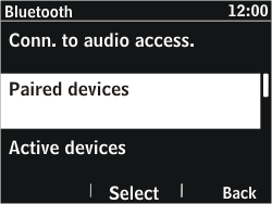 Nokia Asha 302 - Bluetooth - Pair with another device - Step 6
