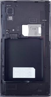LG Optimus L9 - Primeros pasos - Quitar y colocar la batería - Paso 4