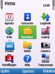 Nokia 6700 slide - E-mail - Handmatig instellen - Stap 24