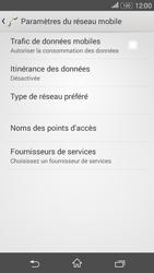 Sony Xperia E4g - Internet et connexion - Désactiver la connexion Internet - Étape 8