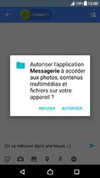 Sony Xperia XA - Android Nougat - Mms - Envoi d
