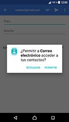 Sony Xperia XA1 - E-mail - Escribir y enviar un correo electrónico - Paso 5
