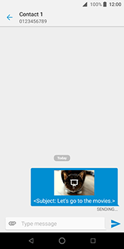 ZTE Blade V9 - MMS - Sending pictures - Step 18