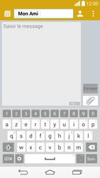 LG D855 G3 - Contact, Appels, SMS/MMS - Envoyer un SMS - Étape 8