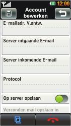 LG GD880 Mini - E-mail - Handmatig instellen - Stap 10