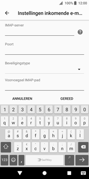 Sony Xperia XZ2 (H8216) - E-mail - Instellingen KPNMail controleren - Stap 15