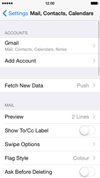 Apple iPhone 5 iOS 8 - E-mail - Manual configuration (gmail) - Step 10