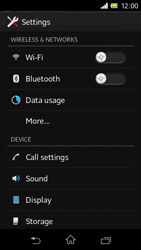Sony C1905 Xperia M - Internet - Manual configuration - Step 4
