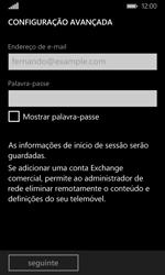 Microsoft Lumia 435 - Email - Configurar a conta de Email -  8