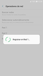 Samsung Galaxy A3 (2017) (A320) - Red - Seleccionar una red - Paso 10