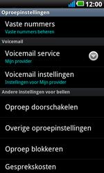 LG P990 Optimus 2X Speed - Voicemail - handmatig instellen - Stap 6