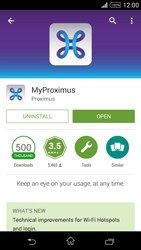 Sony Xperia Z1 Compact D5503 - Applications - MyProximus - Step 10