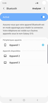 Samsung Galaxy S10 - Bluetooth - connexion Bluetooth - Étape 11