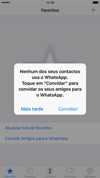 Apple iPhone 6s Plus - Aplicações - Como configurar o WhatsApp -  16