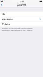 Apple iPhone 6s - iOS 12 - Internet no telemóvel - Como ativar 4G -  7