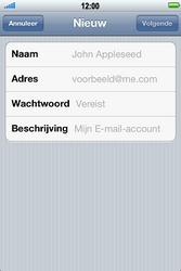 Apple iPhone 4 met iOS 5 - E-mail - Handmatig instellen - Stap 7