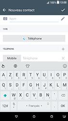 HTC Desire 650 - Contact, Appels, SMS/MMS - Ajouter un contact - Étape 7