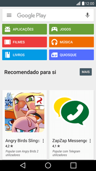 LG G4 - Aplicações - Como pesquisar e instalar aplicações -  4