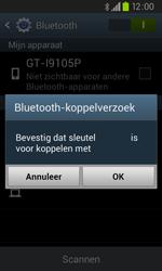 Samsung I9105P Galaxy S II Plus - Bluetooth - headset, carkit verbinding - Stap 7