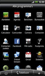 HTC A8181 Desire - MMS - afbeeldingen verzenden - Stap 2