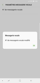 Samsung Galaxy S9 Plus - Messagerie vocale - Configuration manuelle - Étape 10