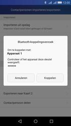Huawei Y6 - Contactgegevens overzetten - delen via Bluetooth - Stap 11