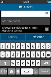 Samsung Wave M - E-mails - Ajouter ou modifier un compte e-mail - Étape 7