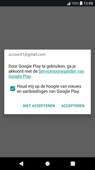 Sony Xperia XA1 Plus (G3421) - Applicaties - Account aanmaken - Stap 18