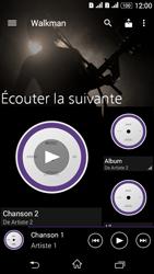 Sony Xperia E4g - Photos, vidéos, musique - Ecouter de la musique - Étape 4